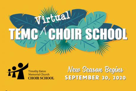 TEMC Choir School Begins